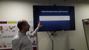 Giving a tech talk on NLP